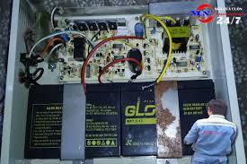 sửa bình lưu điện cửa cuốn ở vinh